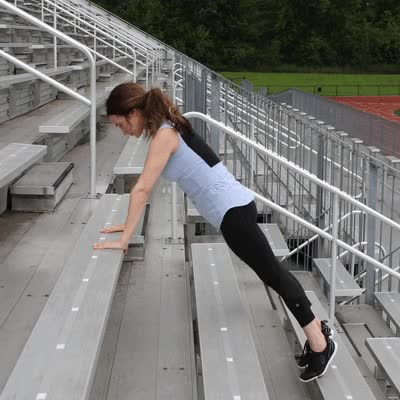 Watch and share 400x400 Stair Workout Pushup GIFs on Gfycat