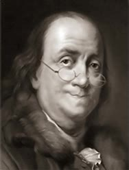 Watch and share Benjamin Franklin Winking GIFs on Gfycat