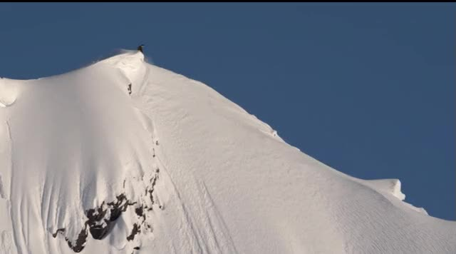 Travis Rice in an Avalanche