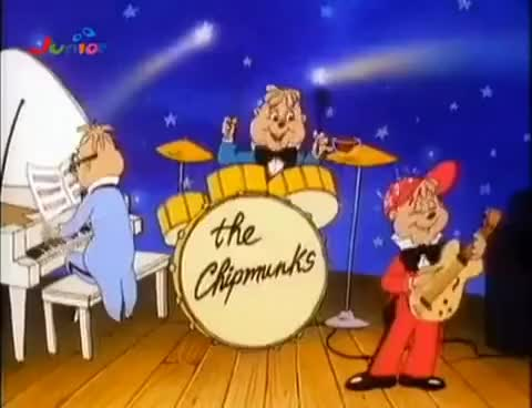 Watch The Chipmunk band GIF on Gfycat. Discover more aatc, alvin, chipmunks, simon, theodore GIFs on Gfycat