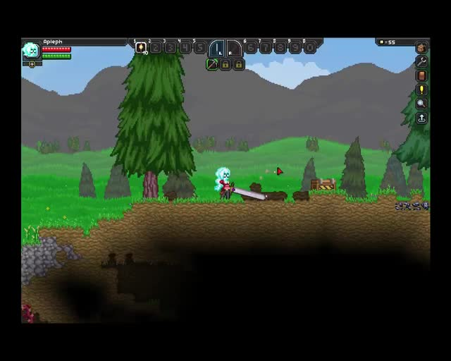 Watch and share The Stars My Destination - A Starbound Mod GIFs on Gfycat