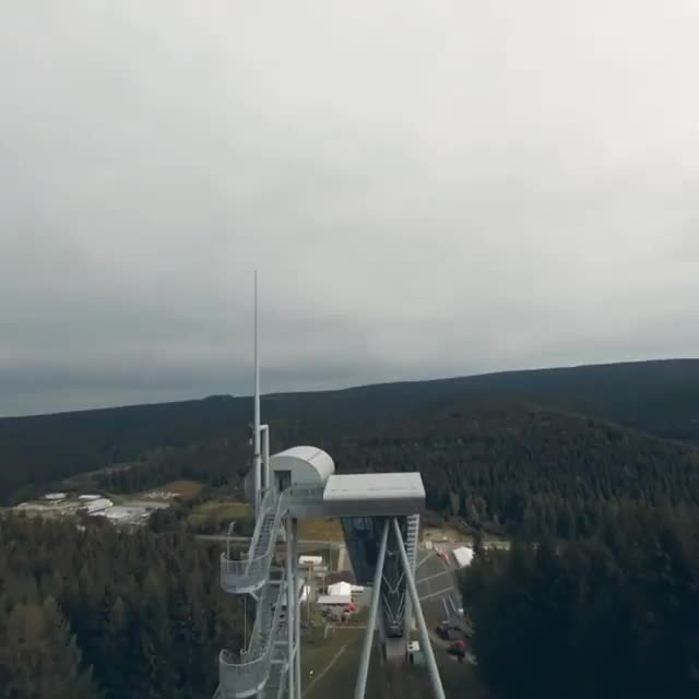 Watch and share BMX Rider Going Off A Ski Jump GIFs by tothetenthpower on Gfycat