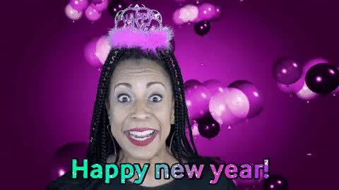 Watch and share Happy New Year GIFs by Holly Logan on Gfycat