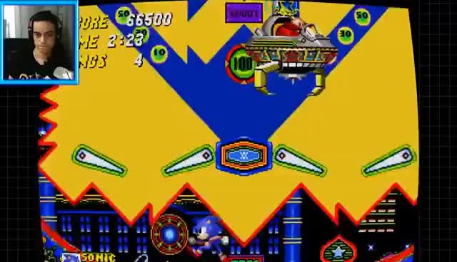 Watch and share Sonic The Hedgehog 2 (PC) - Part 2 (Aquatic Ruin, Casino Night) SPlay GIFs on Gfycat