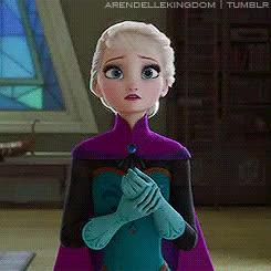 elsa, frozen, Frozen GIFs