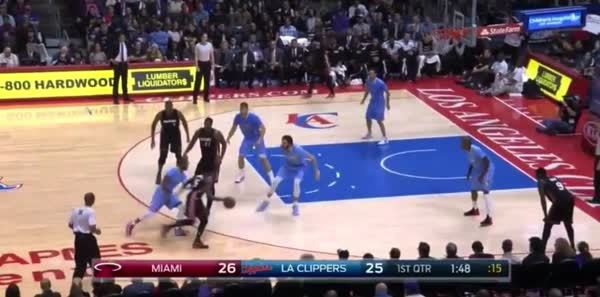 nbagifs, Hassan Whiteside hustles for the rebound, finishes the play (reddit) GIFs