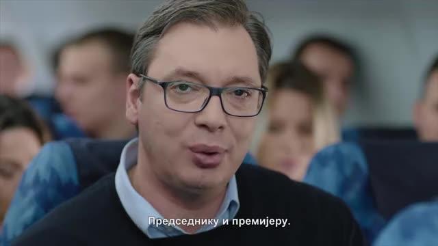 Watch and share Vucic Avion Reklama 2017 Necenzurisano GIFs on Gfycat