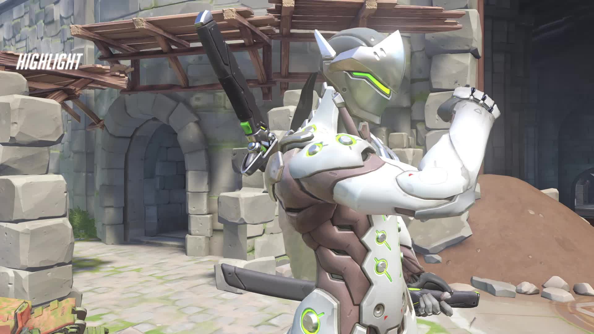 deflect, game, gameplay, gamergirl, games, genji, genjimain, genjiult, overwatch, progenji, qp, bless u GIFs