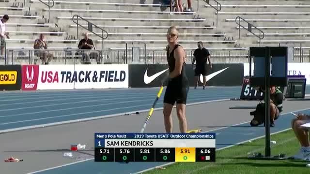 pmmesteamk3ys, Sam Kendricks sets the US polevault record GIFs