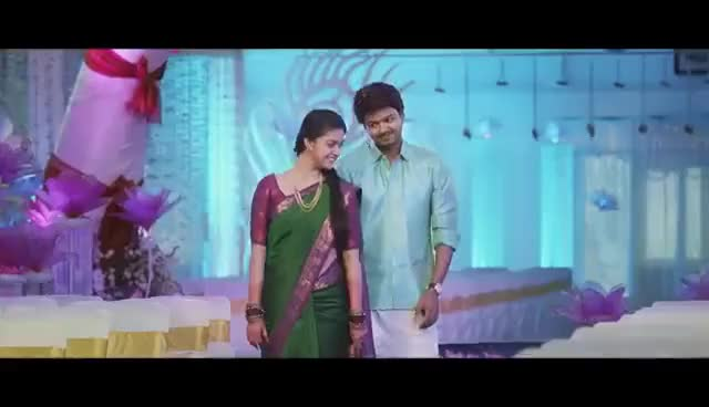 Watch and share Bairavaa - Official Teaser | Ilayathalapathy Vijay, Keerthy Suresh | Bharhathan GIFs on Gfycat