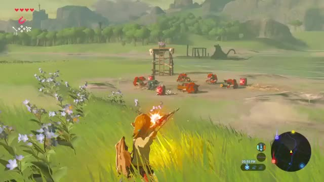 Watch Explosive GIF by KingNothing2000 (@kingnothing2000) on Gfycat. Discover more The Legend of Zelda: Breath of the Wild, zelda GIFs on Gfycat