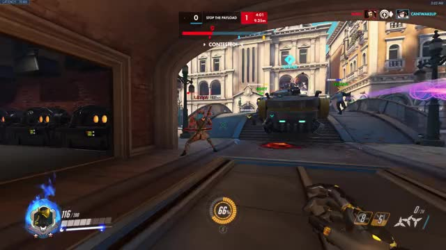 Watch melee GIF by @hanbammer on Gfycat. Discover more ana, overwatch GIFs on Gfycat