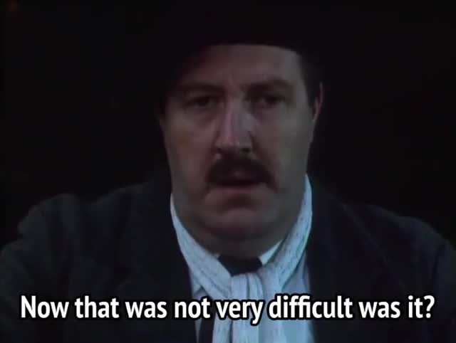 Watch and share Allo Allo - Now That Was Not Very Difficult Was It GIFs by MikeyMo on Gfycat