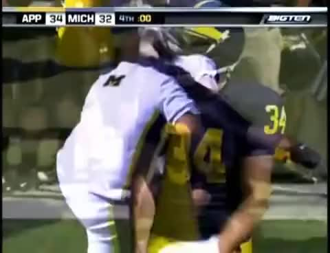 Watch App State Upsets Michigan GIF on Gfycat. Discover more app state, football, michigan, upset GIFs on Gfycat
