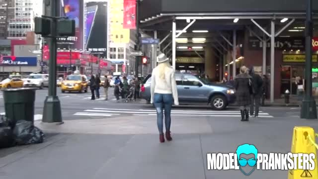 Version Girl walks around with no pants nyc think, that