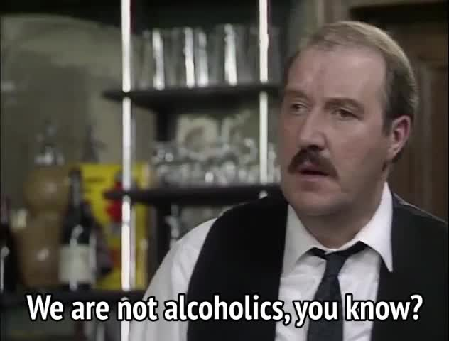 Watch and share Allo Allo - We Are Not Alcoholics, You Know GIFs by MikeyMo on Gfycat