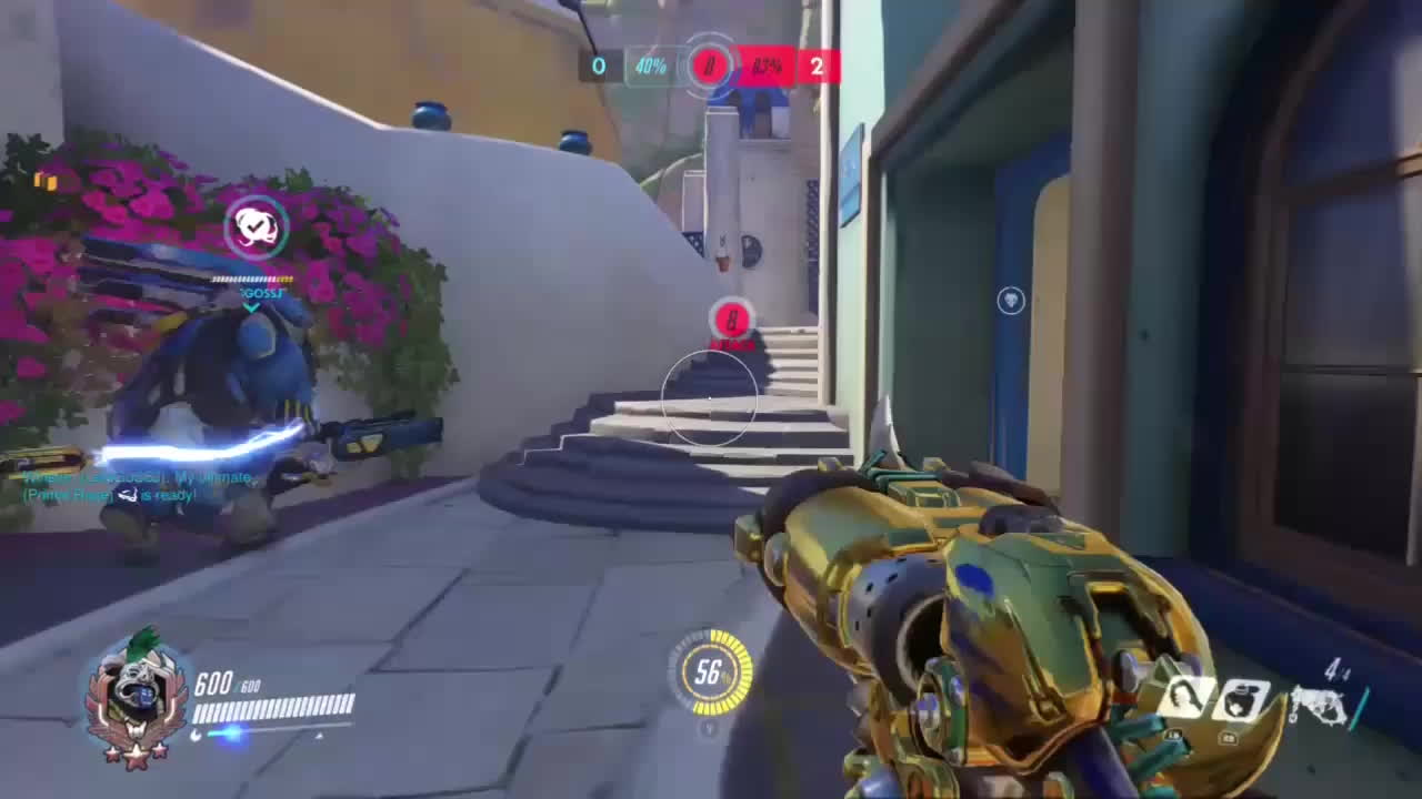 OWConsole, Overwatch, You cannot avoid the hook Mcree GIFs