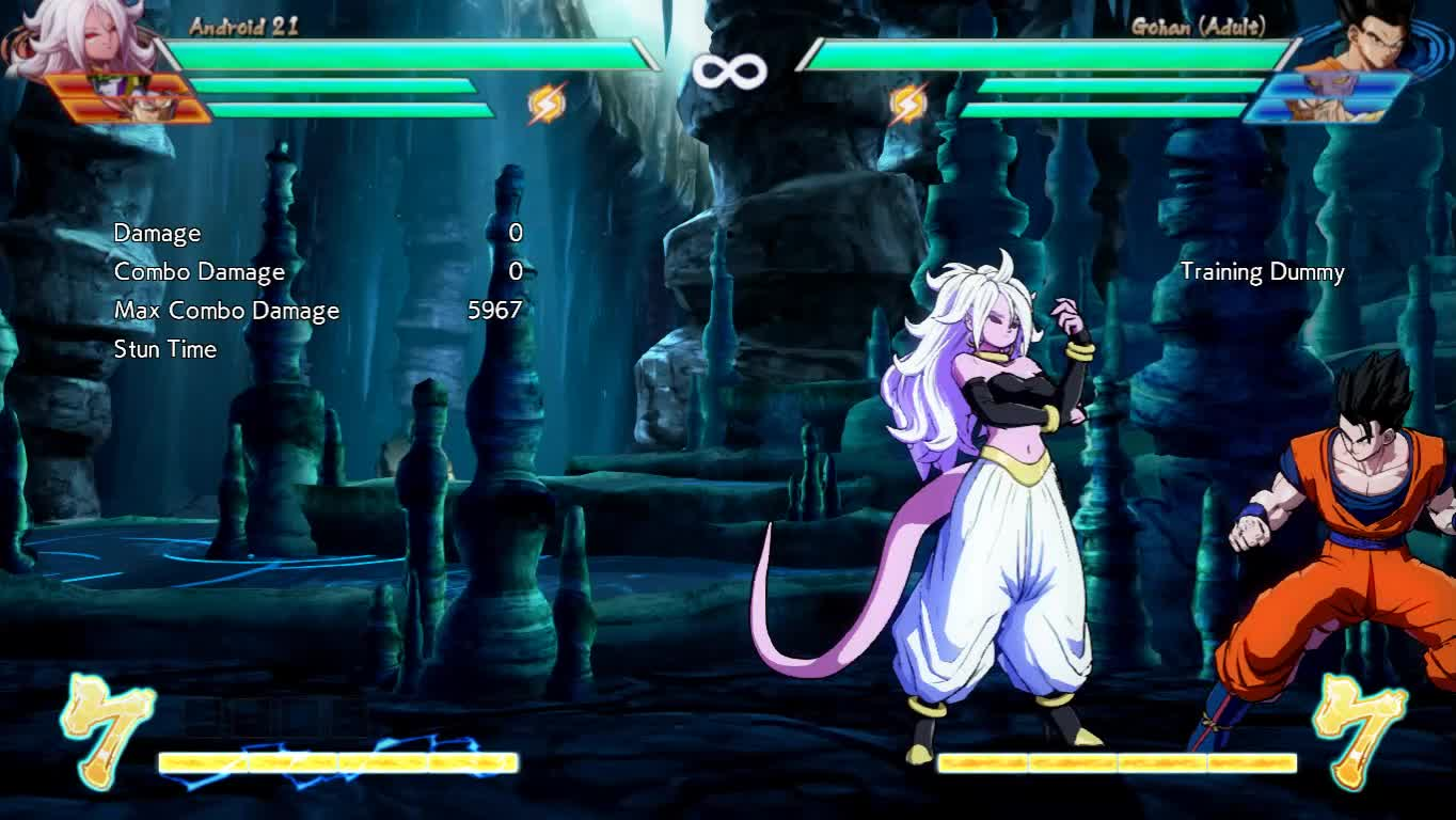 Android21, FighterZ, Gohan, dbfz, Android 21 GIFs