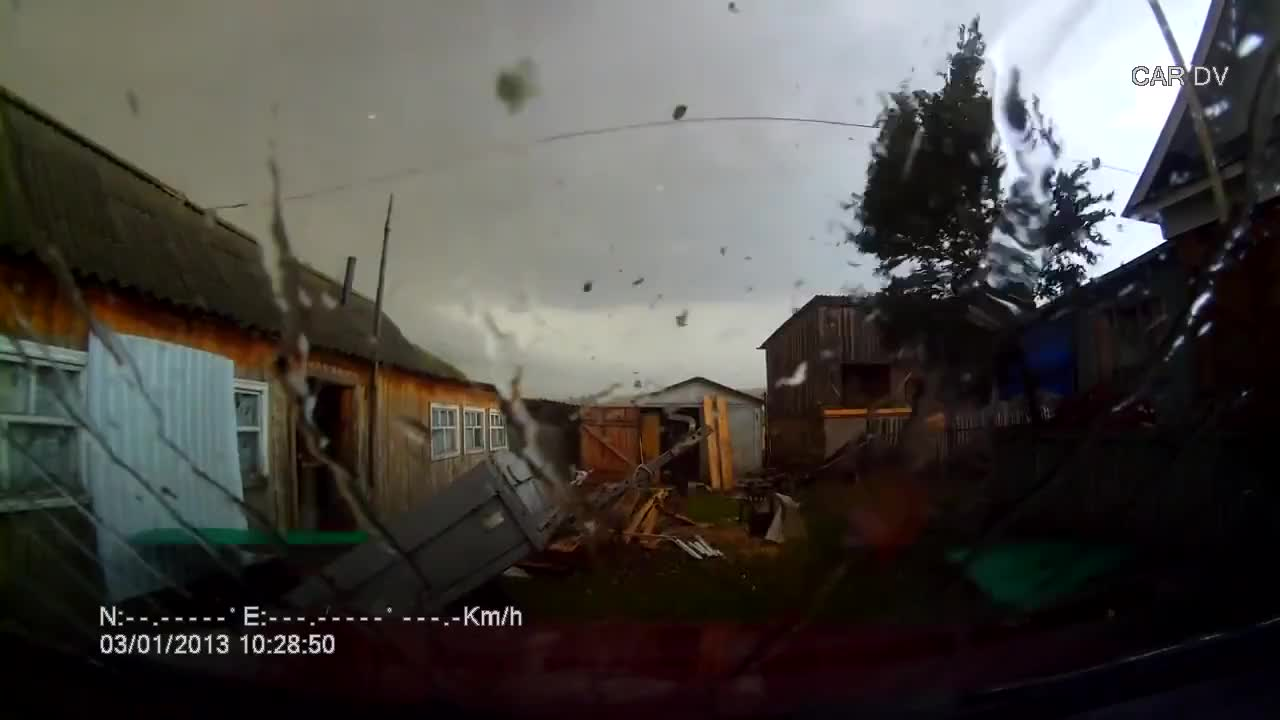 NatureIsFuckingLit, peterm, tornado (disaster type), viralhog, Dashcam caught in a tornado GIFs