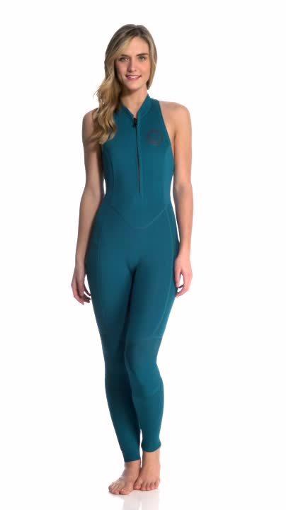 865f5310339534 Billabong Womens 2mm Salty Jane Chest Zip Long Jane Wetsuit (reddit) GIF