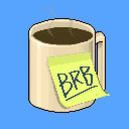 Watch this be right back GIF by Reactions (@sannahparker) on Gfycat. Discover more be right back, brb, caffeine, coffee, coffee break, energize, skab, wake up GIFs on Gfycat