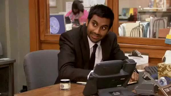 Watch and share Amy Poehler GIFs and Aziz Ansari GIFs on Gfycat