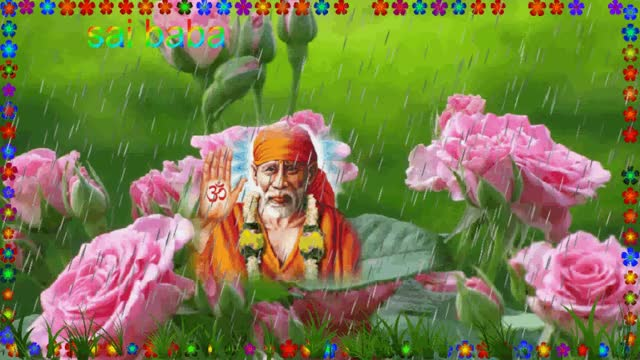 Watch and share Sai Baba GIFs by pramodmittal on Gfycat
