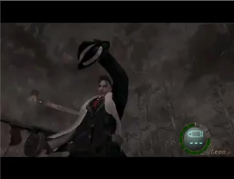 Watch Leon GIF on Gfycat. Discover more RE4 GIFs on Gfycat