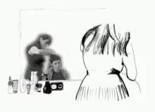 Watch and share Hair Stylist Hair Cut GIFs on Gfycat