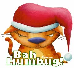 Watch and share Bah Humbug! GIFs on Gfycat