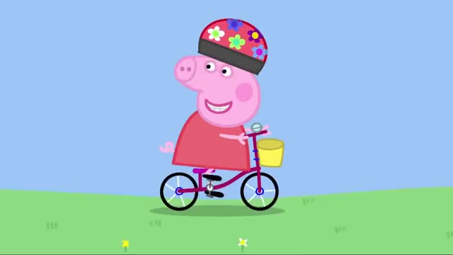 Watch Peppa Pig  Bicycles GIF on Gfycat. Discover more peppapig GIFs on Gfycat