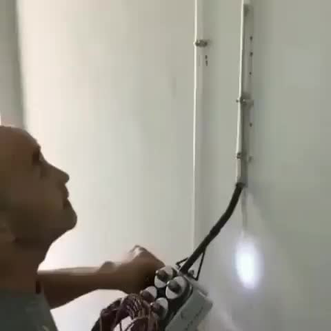 Feeding wire through a tube GIFs