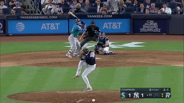 Watch and share 8/25/17: Alonso's Late Homer Lifts Mariners In Extras GIFs on Gfycat