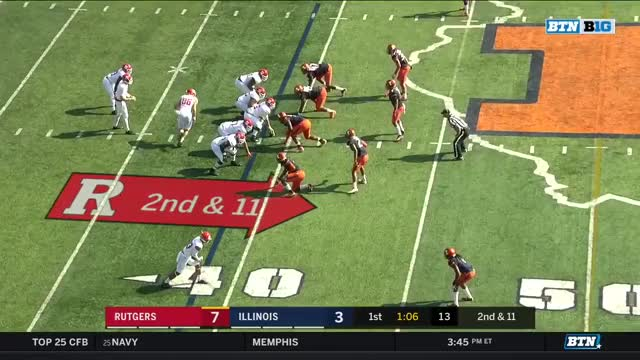 Watch and share FFFF Rutgers - Edwards Sets Up A Block GIFs by Seth Fisher on Gfycat