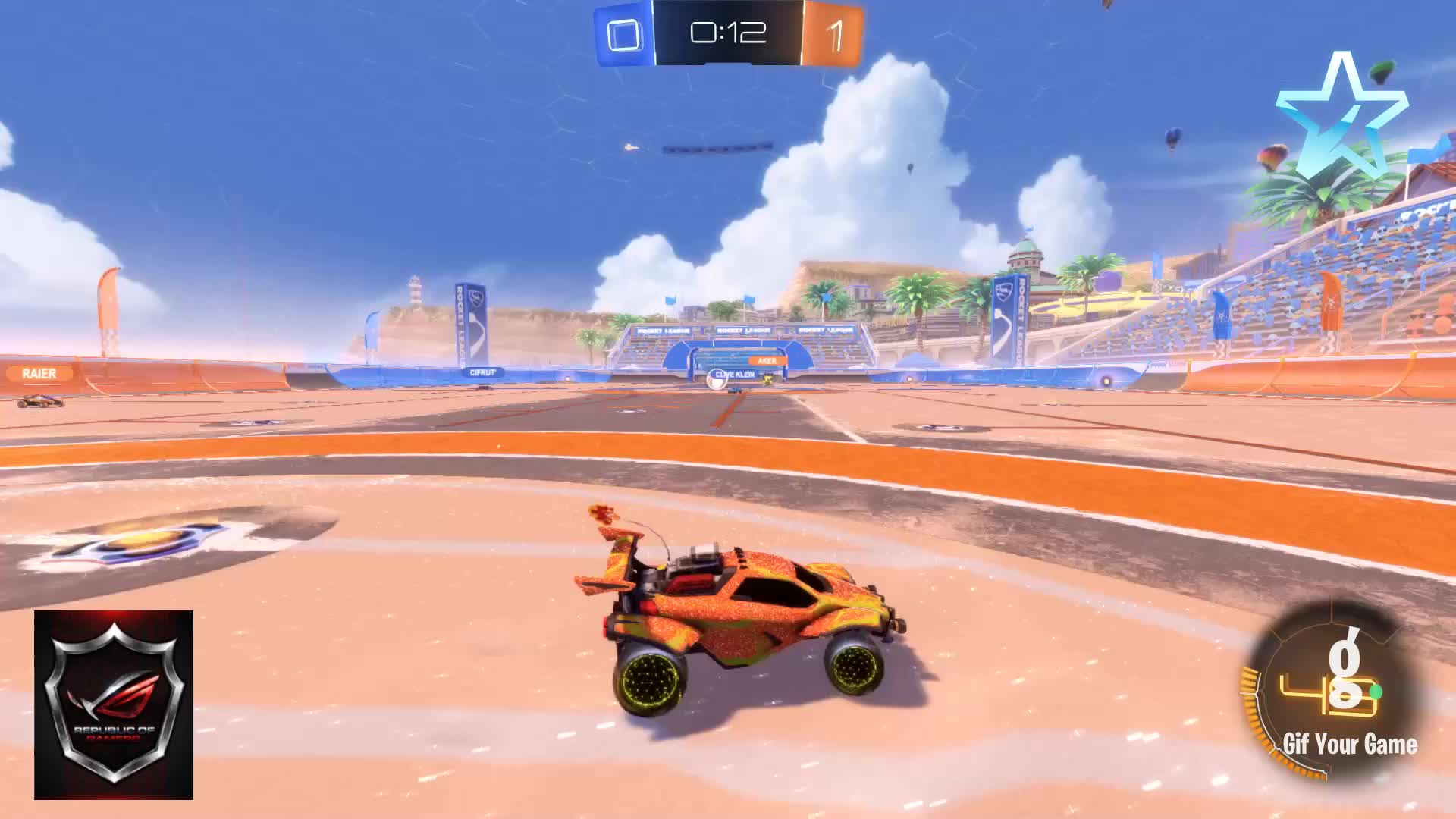 Distroy_-, Gif Your Game, GifYourGame, Goal, Rocket League, RocketLeague, Goal 2: Distroy_- GIFs