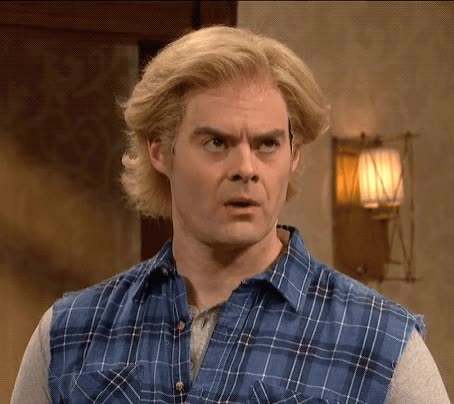 Watch and share Bill Hader GIFs and Snl GIFs by Reactions on Gfycat