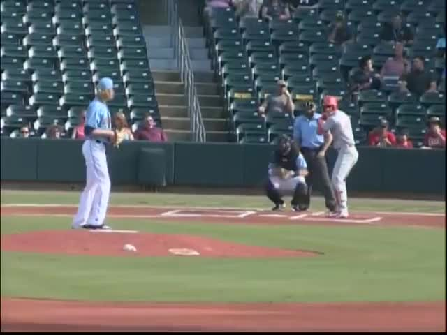 Watch Lookouts' Rooker rips solo homer GIF by Razzball (@razzball) on Gfycat. Discover more Chattanooga Lookouts, MiLB, Minor League Baseball, Minor Leagues, Minors, Montgomery Biscuits, baseball GIFs on Gfycat