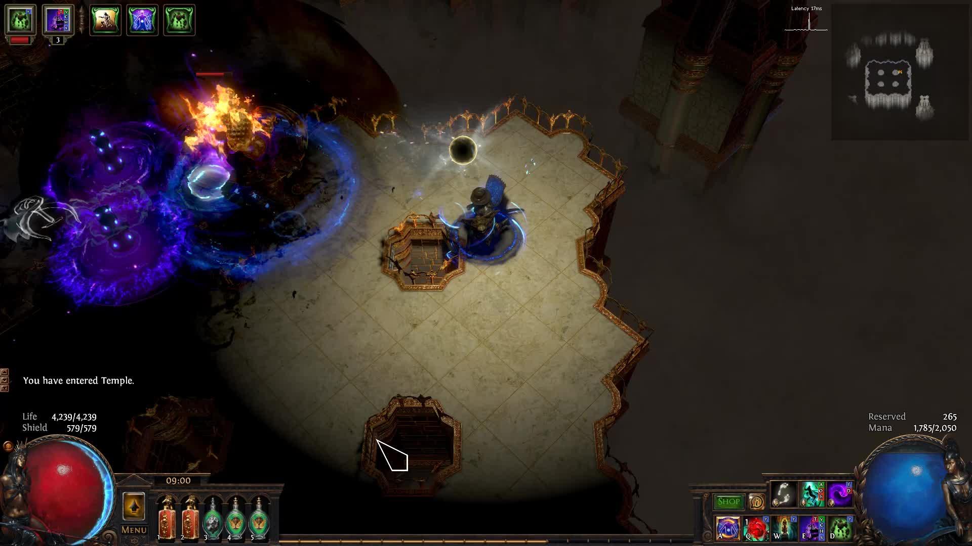 ▷ [Harbinger] Deefa_Adsignata lvl90 Necromancer Burning