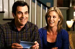 Watch and share Julie Bowen GIFs and Ty Burrell GIFs on Gfycat