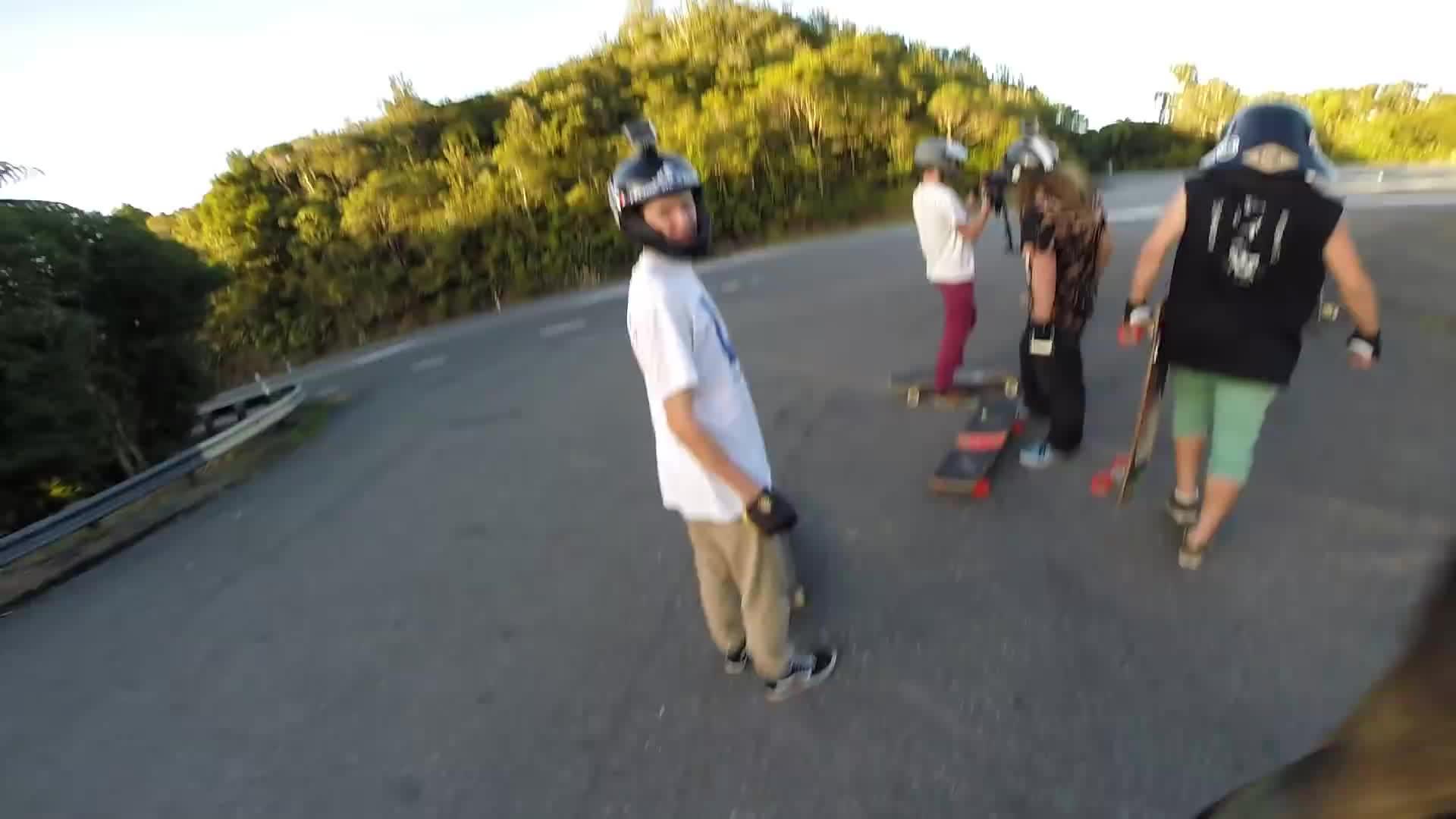 downhill, longboarding, redditisfun, Longboarding: MUKA RAW (1080p 60fps) GIFs