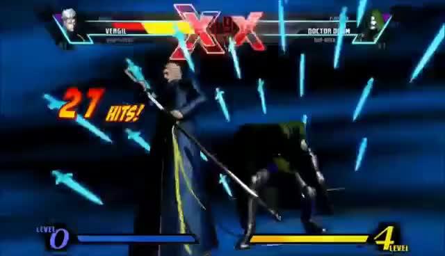 Watch Vergil Blades GIF on Gfycat. Discover more Capcom, Marvel, Vergil, vs GIFs on Gfycat
