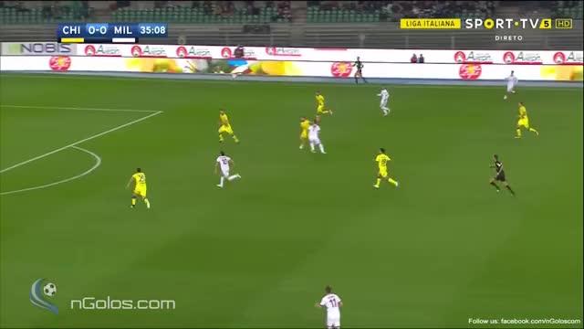 Watch and share (www.nGolos.com) Chievo 0-1 AC Milan - Suso 36' (Great Goal) GIFs by minieri on Gfycat