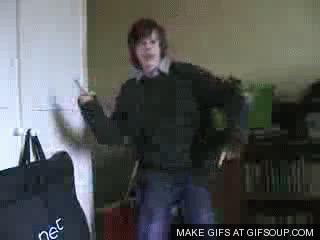 creepy dancing kid GIFs