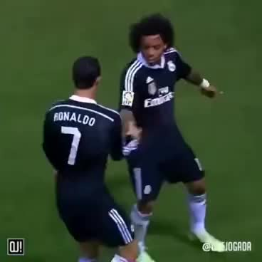 Watch and share Cristiano Ronaldo E Marcelo GIFs on Gfycat