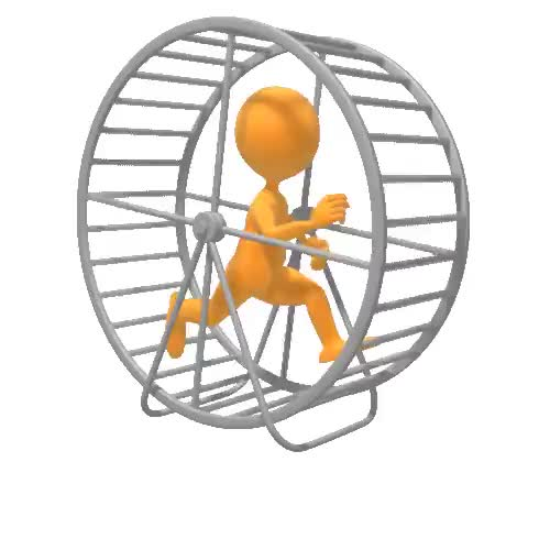 Watch and share Figure Running Hamster Wheel Clr GIFs on Gfycat