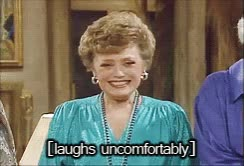 Watch and share Golden Girls Uncomfortable Laugh GIF GIFs on Gfycat