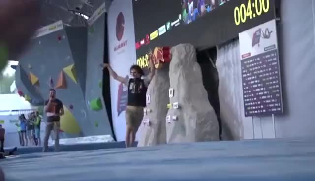Hojer And Wurm Secure German Double At European Bouldering Champs