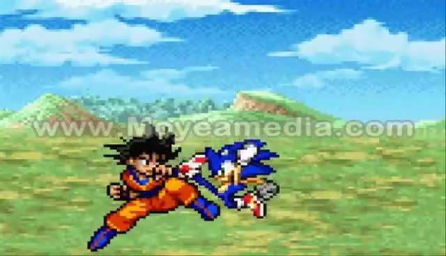 Watch Sonic Vs. Goku Pt.2 GIF on Gfycat. Discover more Goku, Sonic GIFs on Gfycat