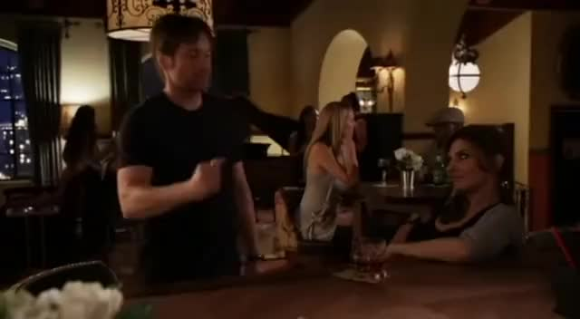 Hank Moody Bar Trick
