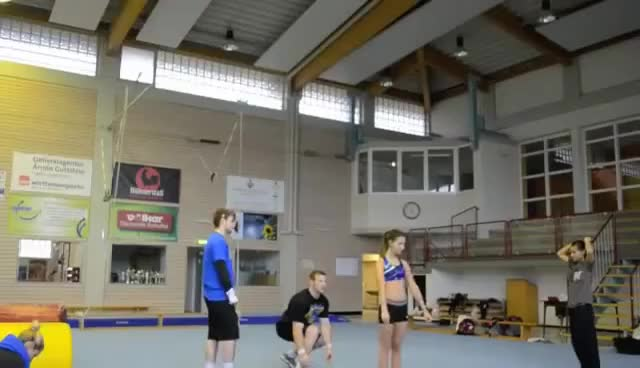 Watch and share Cheerleading GIFs on Gfycat